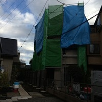 神奈川県相模原市南区 外壁塗装中です。のサムネイル