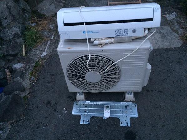 相模原市緑区下九沢にて、エアコン3000円の買取です。のサムネイル