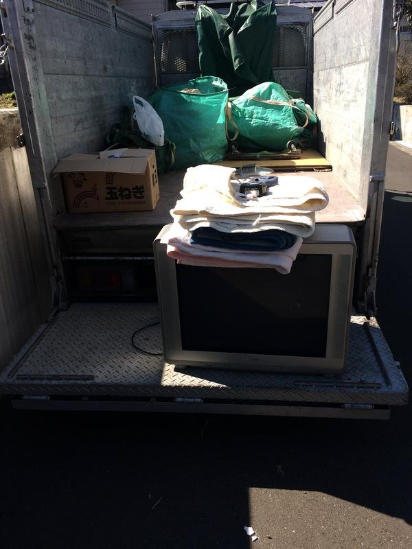 本日神奈川県愛甲郡にて、ブラウン管テレビ引き取ってきました。のサムネイル