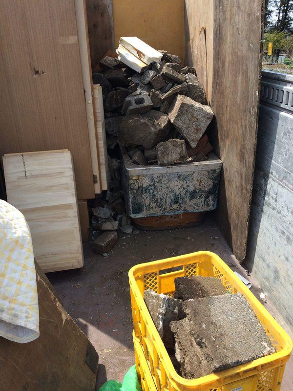 神奈川県横浜市泉区にて、コンクリート回収していました。のサムネイル