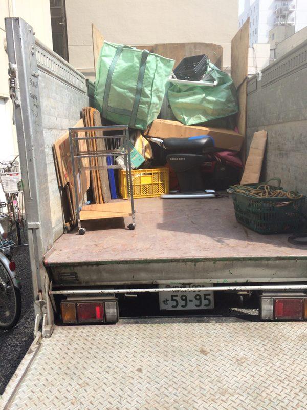 神奈川県川崎市にて、不用品回収していました。のサムネイル