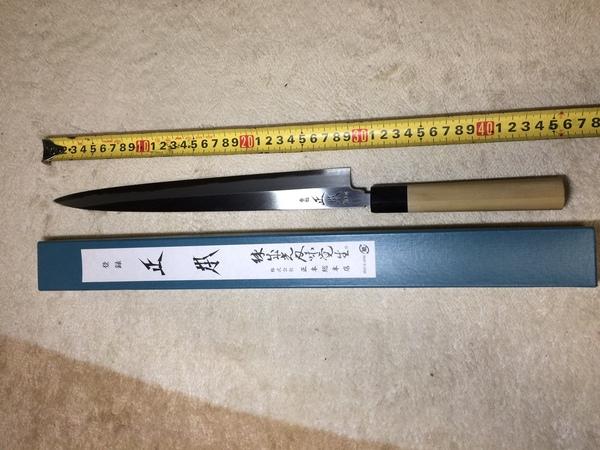 神奈川県海老名市にて、刺身包丁、出刃包丁を買い取りました。のサムネイル