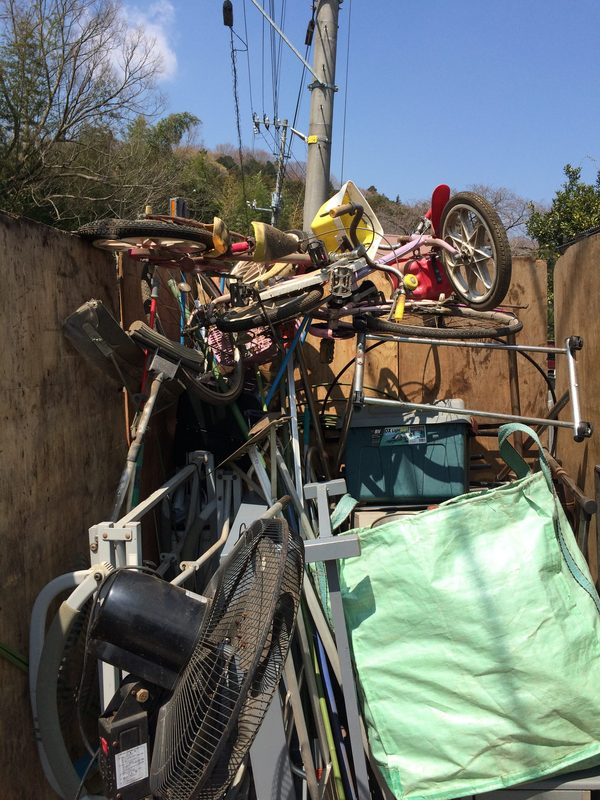 神奈川県愛甲郡三増にて、鉄くずを処分していました。のサムネイル