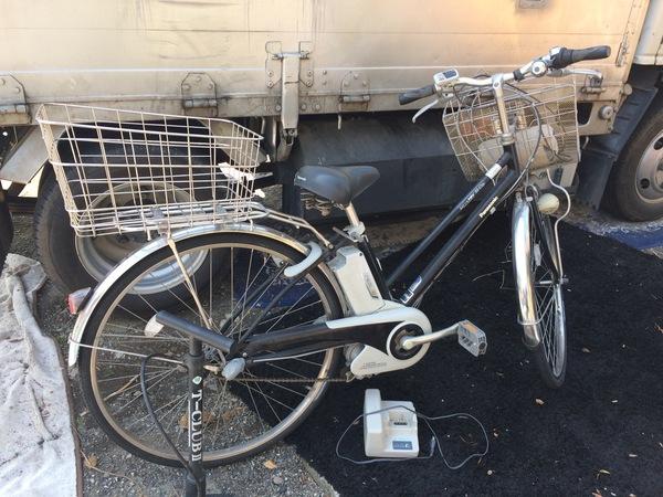 神奈川県荻野にて、電動付き自転車を買取ました。