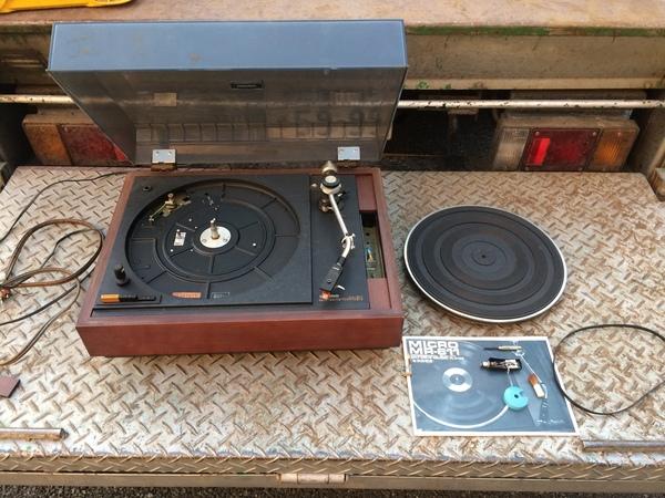 神奈川県厚木市上依知にて、MICROのレコードプレーヤー買取ました。のサムネイル