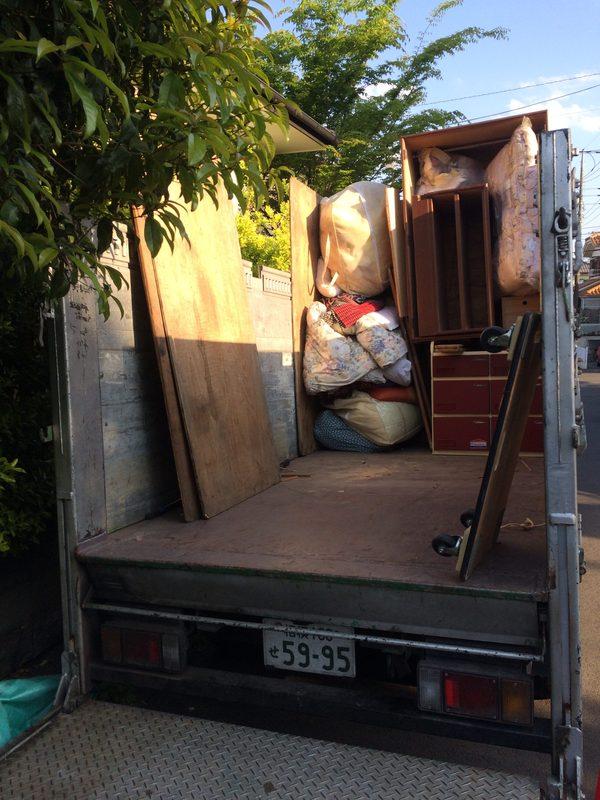 東京都町田市西成瀬にて、不用品回収していました。のサムネイル