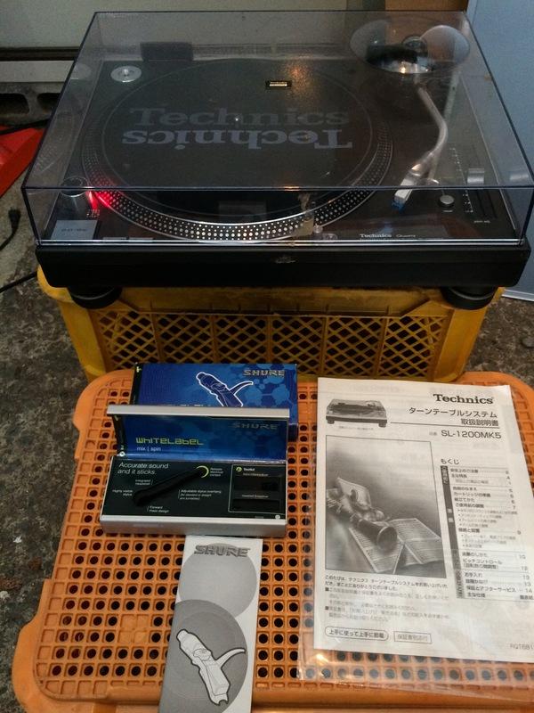 本日の買取品は、Technics テクニクス ターンテーブル SL-1200MK5です。のサムネイル