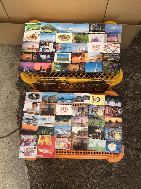 厚木市にて、テレホンカード買取しました。のサムネイル