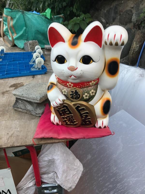 厚木市にて、招き猫買い取りました。のサムネイル