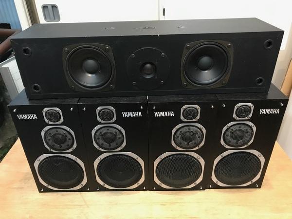 YAMAHA  NS-1000MM スピーカー 4つ NS-C105を買い取りました。のサムネイル