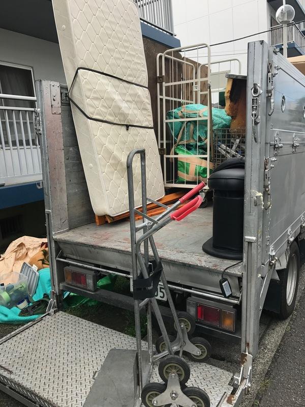 神奈川県伊勢原市石田にて、シングルベット回収しましたのサムネイル