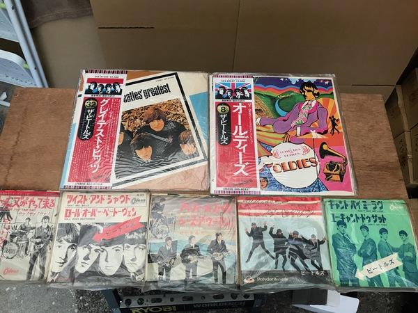 神奈川県相模原市中央区にて、ビートルズLP買取ました。のサムネイル