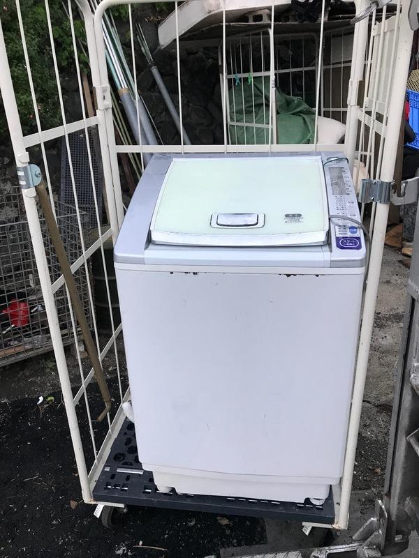 神奈川県相模原市中央区にて、洗濯機不用品回収しました。のサムネイル