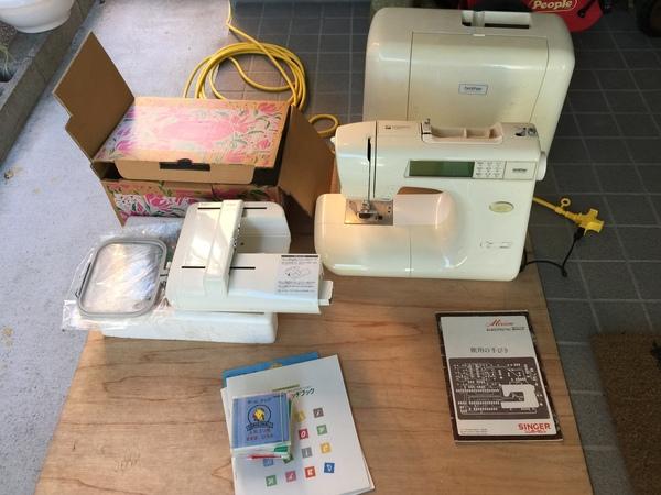 静岡県掛川市葛川にて、ミシンと編み機を買い取りました。のサムネイル