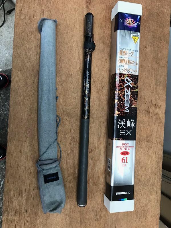 神奈川県厚木市鳶尾にて、釣竿を買取ました。のサムネイル