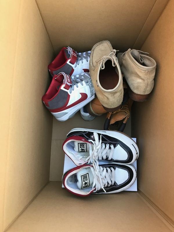 相模原市緑区田名にてナイキなどの靴を買取しました。のサムネイル