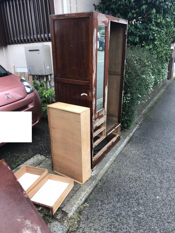 厚木市妻田北にて、タンスの不用品回収してきました。のサムネイル