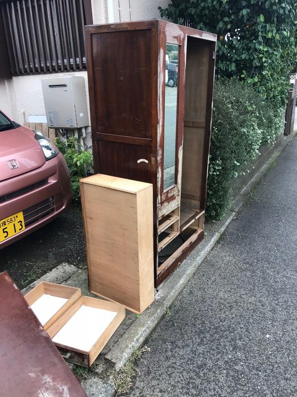 神奈川県厚木市妻田北にて タンス不用品回収してきました。のサムネイル
