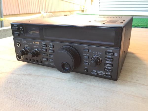 静岡県掛川市下俣にて、ICOM アイコム IC-820 トランシーバー 無線機 144MHz/430MHz買い取りました。のサムネイル