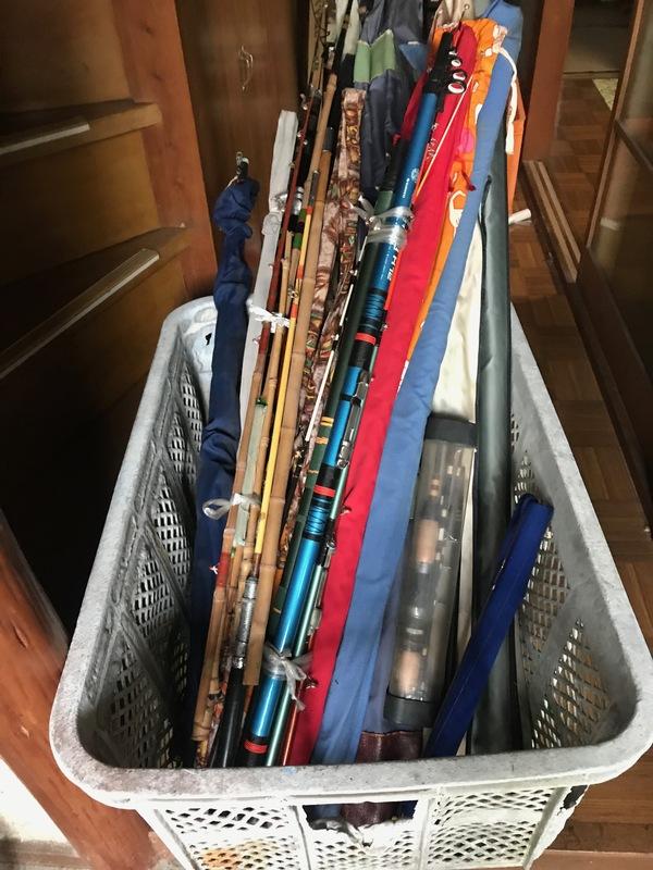 神奈川県海老名市東柏ヶ谷にて、釣竿20本買取ました。のサムネイル