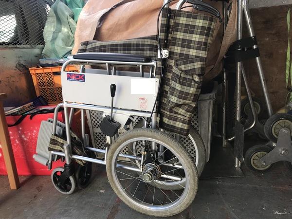 神奈川県厚木市厚木町にて、車椅子買取しました。のサムネイル