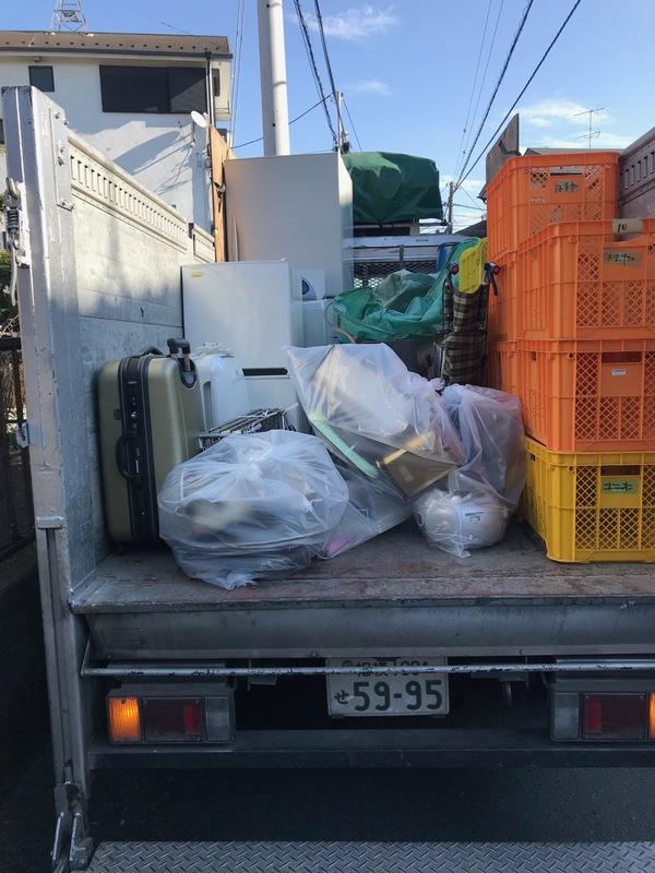 神奈川県座間市ひばりヶ丘にて、ケートラ1台分不用品回収してきました。のサムネイル