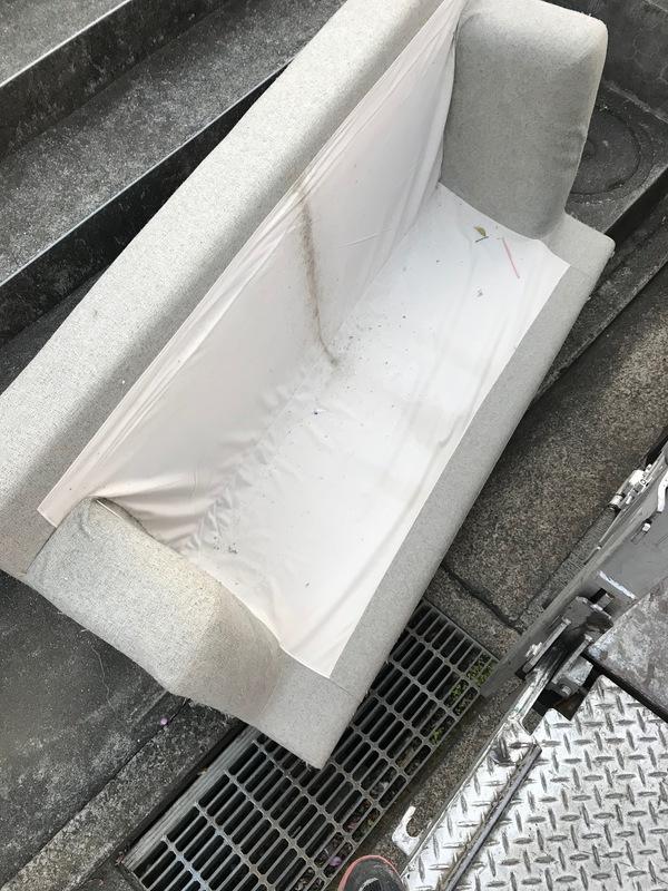 神奈川県横浜市青葉区にて、ソファー不用品回収しました。のサムネイル