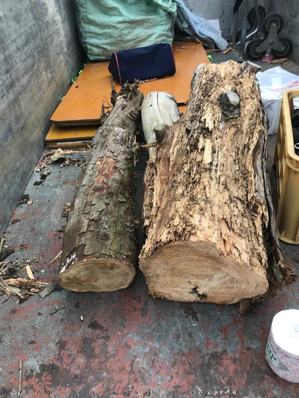 神奈川県厚木市及川にて、木屑の不用品回収しました。のサムネイル