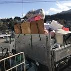 神奈川県川崎市麻生区にて、2トンいっぱいの不用品回収しました。