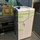 神奈川県厚木市旭町にて、2ドア冷蔵庫不用品回収しました。