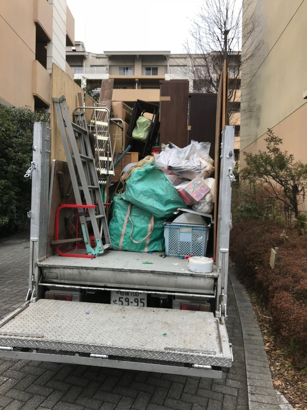 神奈川県横浜市緑区にて、不用品回収案件頂きました。