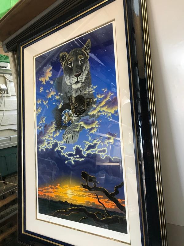 神奈川県海老名市上今泉にて、シム・シメール絵画買取ました。