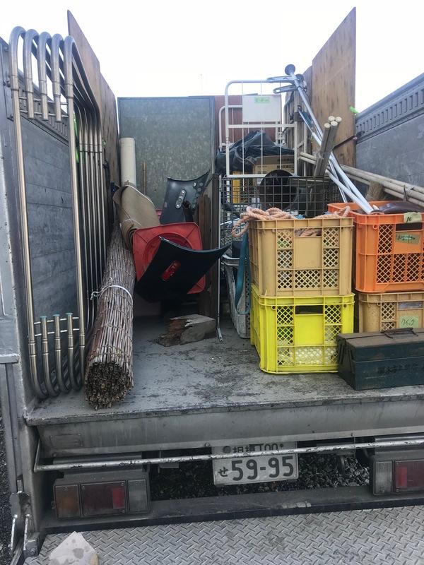 神奈川県厚木市上落合にて、倉庫の不用品回収しました。のサムネイル