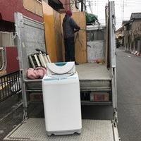 東京都青梅市川辺町にて、2トン1台分の不用品回収してましたのサムネイル