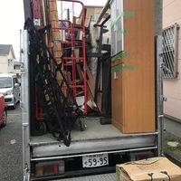 平塚市南金目にて、2トン2台分の不用品回収案件を終了しましたのサムネイル