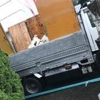 神奈川県藤沢市鵠沼藤ヶ谷にて、外の要らないもの2トン分回収しました。