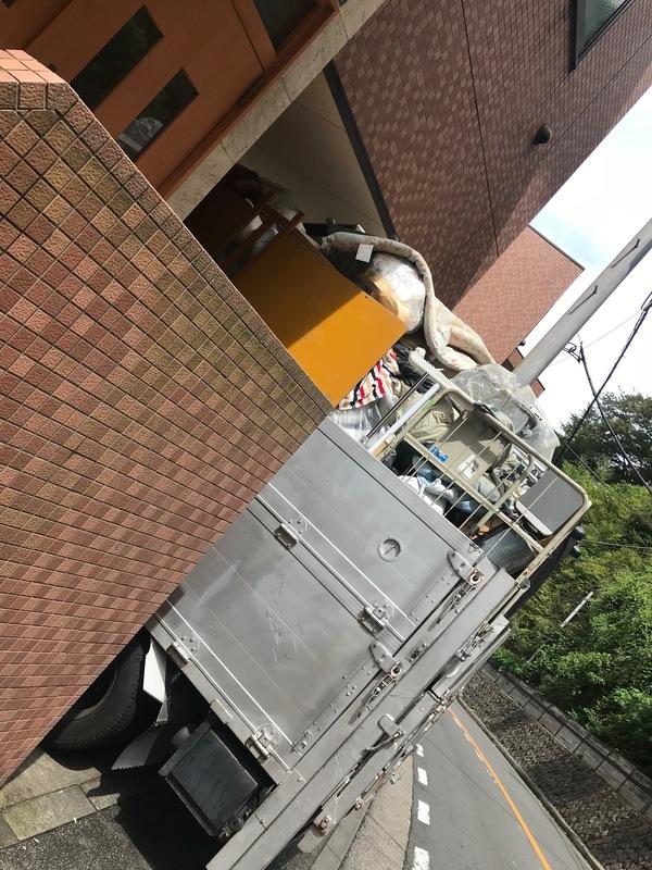 横須賀市鷹取の学生寮にて2トン分の不用品回収をしましたのサムネイル