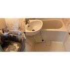神奈川県川崎市幸区にてお風呂周りのハウスクリーニング案件頂きました。