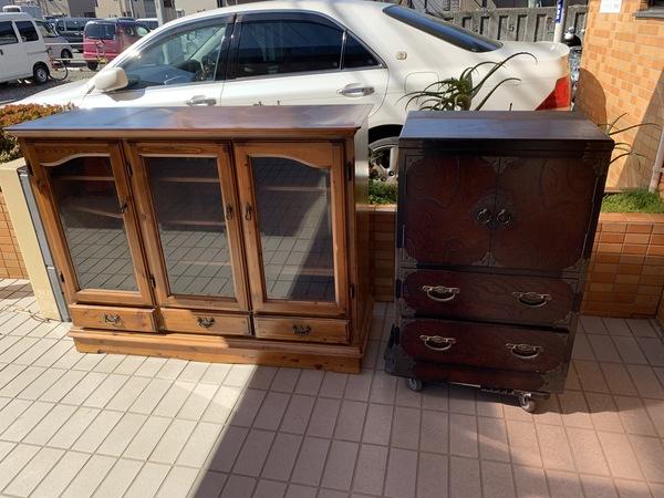 神奈川県大和市深谷西にて小物家具の買取をしました。のサムネイル
