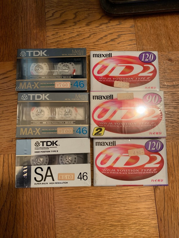 神奈川県厚木市妻田西にてカセットテープ買取しました。のサムネイル