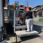 神奈川県厚木市上荻野にて、2トン1台分の不用品回収をしました