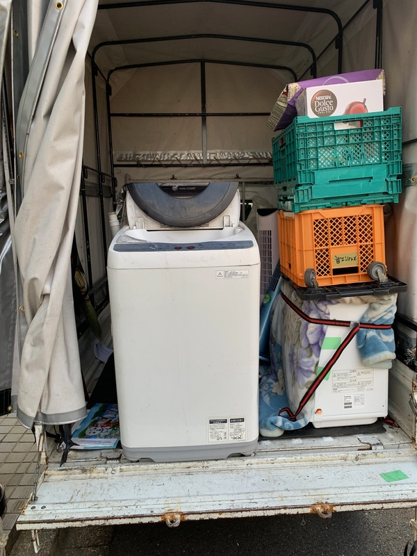 相模原市南区淵野辺にて洗濯機を不用品回収しました。