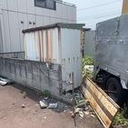 神奈川県厚木市妻田西にて、物置の不用品回収案件してきました。