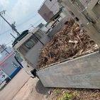 厚木市妻田西にて草刈り後の片付け案件してきました。