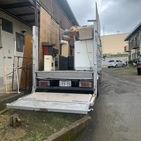 神奈川県秦野市平沢にて不用品回収2トントラック満載していました