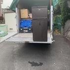 神奈川県厚木市にて2ドア冷蔵庫引き取りました
